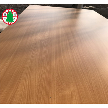 Melamine Laminated Plywood for Furniture