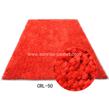 Polyester Rug With Rich Coloration