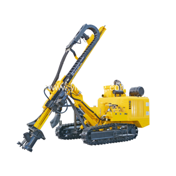 YKD-410 Hydraulic Ore Prospecting Pneumatic Rock Drill Rig