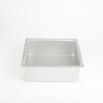 "8"" Aluminum Alloy Square Bakeware Mold"