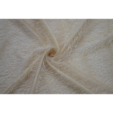 Polyester Shiner Lace Fabric