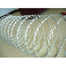 Hot Dipped Galvanized Razor wire fence panel