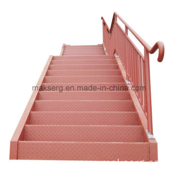 Stainless steel staircase for Factory and Warehouse