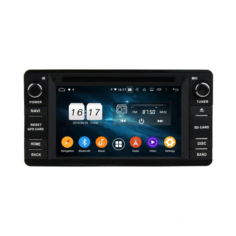 Android Car Multimedia System Outlander 2014