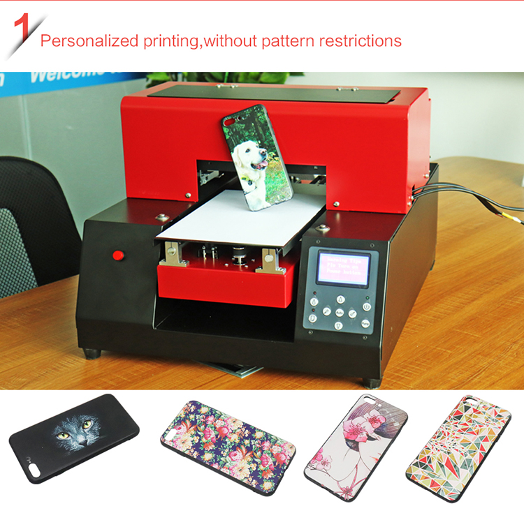 A4 Uv Flatbed Printer Machine
