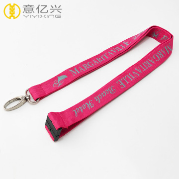 Company name brand cheap green cell phone lanyard