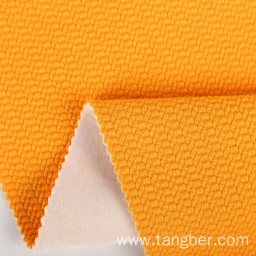 heavyweight knitted 100% polyester bonded soft fleece fabric