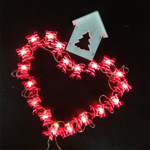 Christmas led fairy light with bow