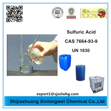 High Quality Sulphuric Acid 98% Price Tech Grade