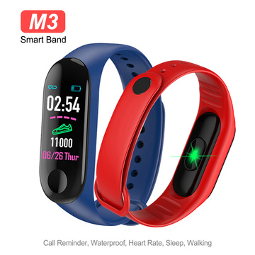 Sports Fitness Smart Wristband Blood Pressure & Heart Rate Monitor Touch Screen Smart Band Step Counter Bracelet