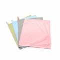 High end traceless microfiber wiping plain cloth