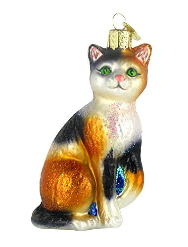 Cat Glass Ornaments