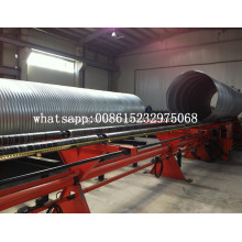 corrugated metal pipe culvert making machine