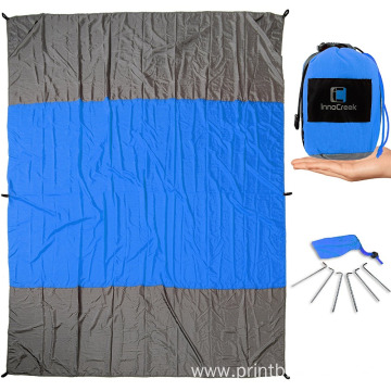 waterproof outdoor nylon picnic blanket