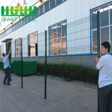 PVC Triangle Bend 3D Welded Wire Mesh Fence