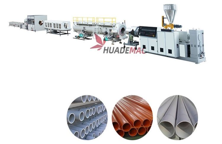Pvc Big Diameter Pipe Line