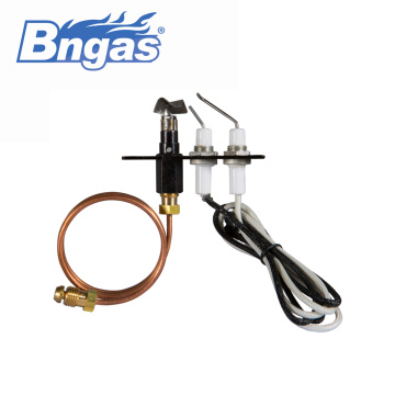 Gas stove burner parts/ pilot burner