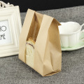kraft paper bread packing bag