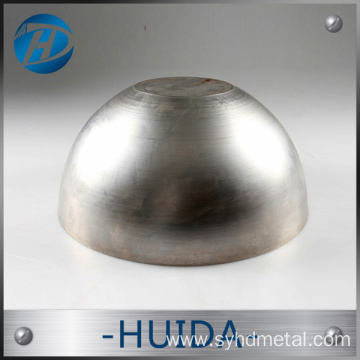 factory custom CNC pure round copper hemisphere