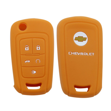 5 Button Silicone Car Key Cover Maka Chevrolet