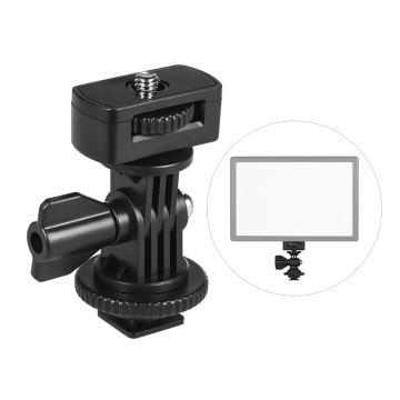 Universal Adjustable Cold Hot Shoe Mount Adapter with 1/4