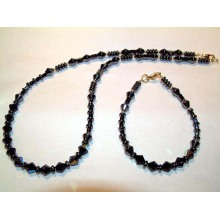 Hematite Set Wheat Jewelry