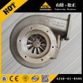 High quality PC1250-7 excavator turbocharger 6240-81-8300