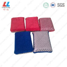 Mixture cloth silver cleaning sponge
