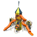 Kids Outdoor Playground Structures tower For Small Yards