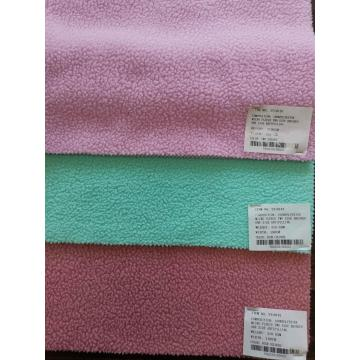 100% Polyester Knitted Fabric Fleece DTY Fabrics