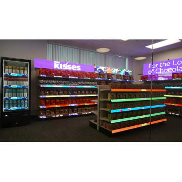 P2 Goods Shelf Led Displays Screen