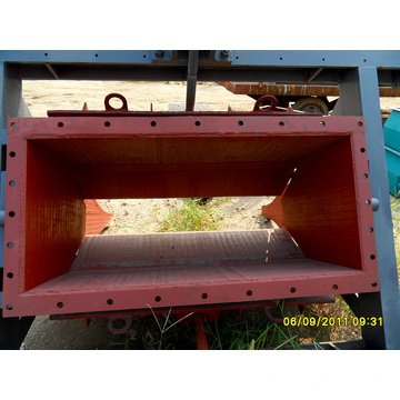 Chromium Carbide Wear Feeder Hopper