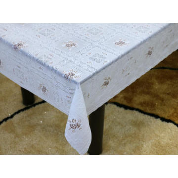 instructions Printed pvc lace tablecloth by roll
