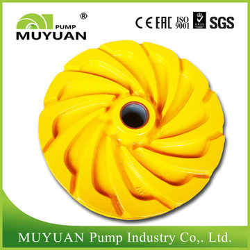 Closed High Chrome Centrifugal Slurry Pump Impeller