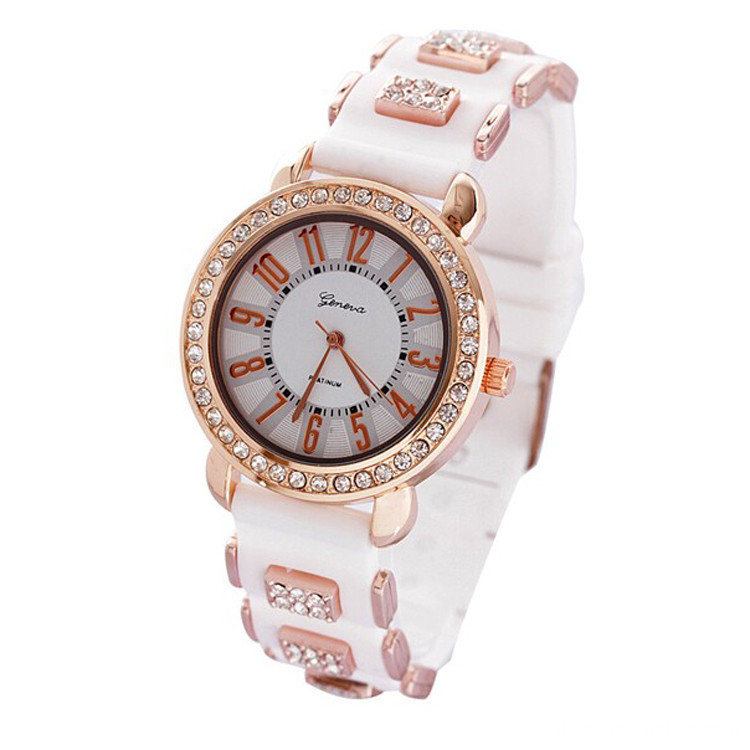 Gift Fashion Waterproof Style Silicone Watch(chenweilong)