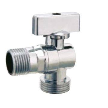 Bathroom Accessories Chrome Plated Brass Angle Valve
