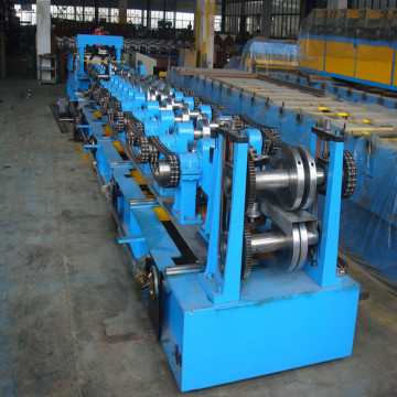 C frame roll forming machine for roof