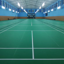 PVC Sports flooring for badminton courts