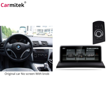 bmw series 1 e87 multimedia player