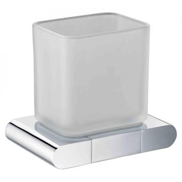 Easy Wall Mounted Glass Cup Holder In Bathroom