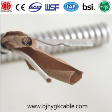 Mc Cable Thhn/Thwn-2 Interlocked Armor Metal Clad Cable