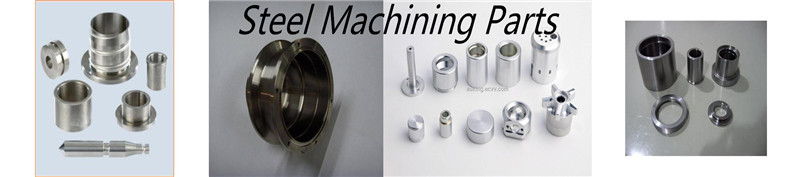 High quality custom steel machine parts