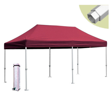Aluminum red color gazebo pop up gazebo