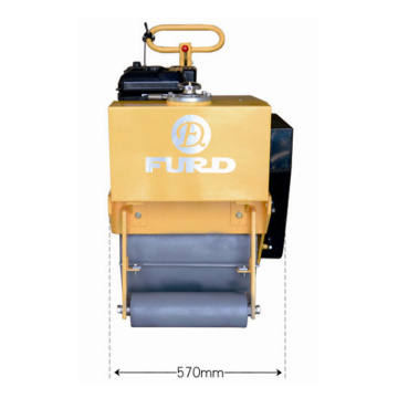 Hand Push Small Road Roller Compactor