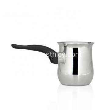 High Efficiency Stainless Steel Milk Pot With Handles