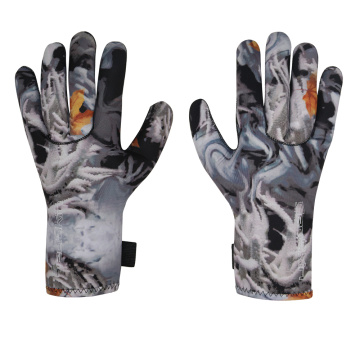 Seaskin Neoprene Camo Gloves for Scuba Diving