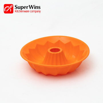 Perfect Durable Silicone Bundt Pan Fluted Cake Pan