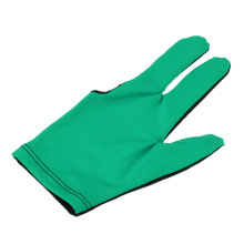 Professional Three Fingers Stretchy Breathable Sport Billiards Left Right Hand Gloves Snooker Pool Cue Sticks Fingertip Open