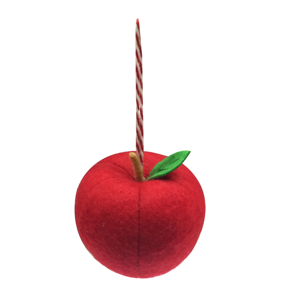 Christmas 3d Apple Pendant Decorations