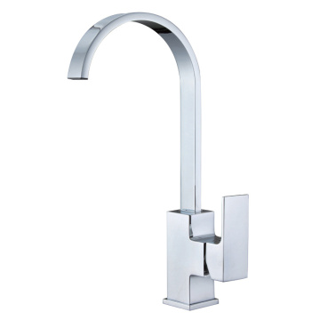 Square Type Kitchen Sink Mixer Taps